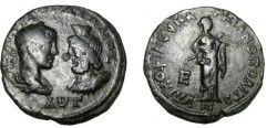 Ancient Coins - Gordian & Sarapis 238 - 244 AD Marcianopolis Moesia Inferior AE27