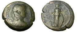 Ancient Coins - Alexandria , Egypt Hadrian 117- 138 AD AE Drachm Athena