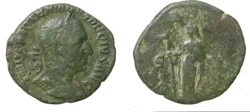 Ancient Coins - Trajan Decius 249-251AD AE Sestertius S-9399
