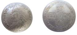 Ancient Coins - Great Britain  George II Half Crown 1746 Lima  km584.1