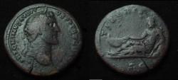 Ancient Coins - Antoninus Pius Æ Sestertius.
