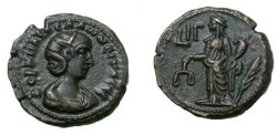 Ancient Coins - Salomia 268AD D 5328 BMC 2246