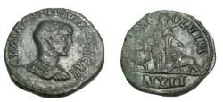 Ancient Coins - Hostilian 251AD Moesia Superior Viminacium AE26 S-4291 R!
