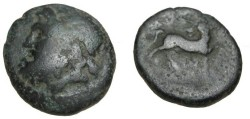 Ancient Coins - Thessaly The Magnetes AE21 196-146BC S-2138