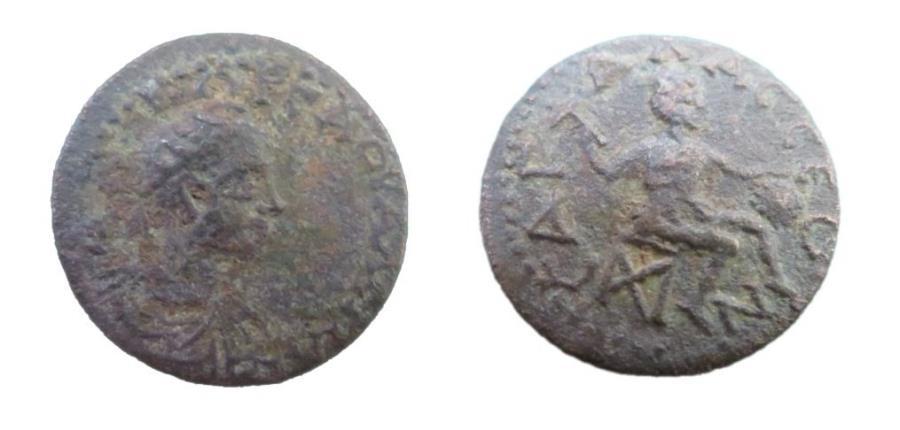 Ancient Coins - Roman Provincial Pisidia Sagalassus Valarian I 253-260 AD AE21  5.0 gm