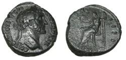 Ancient Coins - Antoninus Pius AE As COS III RIC 954a C-195