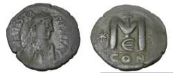 Ancient Coins - Anastasius 491-518 AD AE Follis