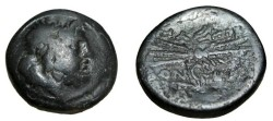 Ancient Coins - Macedonian Cities Pella 196-168 BC AE24 S-1441