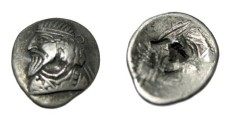 Ancient Coins - Persis Autophradate III 1st - 2nd Century AD AR Hemi-Drachm S# 5959 R!