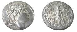 Ancient Coins - Selekid Kings Antiochos VII 138-129BC AR Tetradrachm