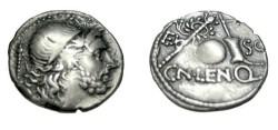 Ancient Coins - Cornelius Lentulus Marcellinus 76/75BC AR denarius RCI 323