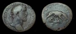 Ancient Coins - Antoninus Pius. 138-161 AD. Æ Sestertius
