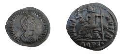 Ancient Coins - VALENTINIAN II  375-392  AR SILIQUA
