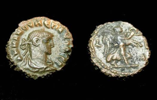 Ancient Coins - Roman Egypt Numerian 283-284AD Billon Tetradrachm