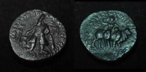 Ancient Coins - The Kushans Wima Kadphises