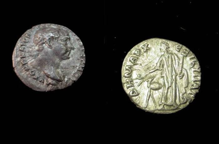 Ancient Coins - Trajan 78-117AD, Cappadocia
