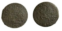 World Coins - Sweden Gustav II Adolf 1611-1632 1 Ore 1629 NYKOPING KM #117