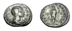Ancient Coins - Julia Maesa Ca 225 AR Denarius SAECVL FELCITAS S-2184 RIC 271 C.45