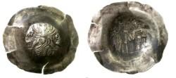 Ancient Coins - MANUEL I. 1143-1180. EL Aspron Trachy.