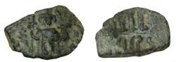 Ancient Coins - Constans II 641-668AD AE Follis S-1001