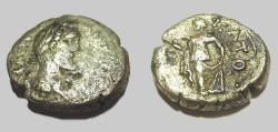 Ancient Coins - Antoninus Pius Billion Tetradrachm Elpis standing R