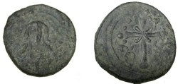 Ancient Coins - Anonymous Follie Attributed to Nicerhorus III 1078-1081AD S-1889 Class I