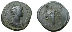 Ancient Coins - Julia Mamae 268-270 AD  Ae Sestertius
