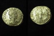Ancient Coins - Julia Soaemis,  AR DEnarius