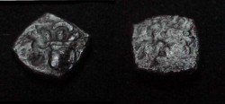 Ancient Coins - The Kushan Shaws Shapur I  AD 241-272 AE 15 M 1268