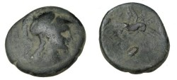 Ancient Coins - Asia Minor Phygia Apameia AE 24 133-48 BC S-5120