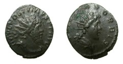 Ancient Coins - POSTUMUS. 260-269 AD. Antoninianus Struck 269 AD. Trier mint.