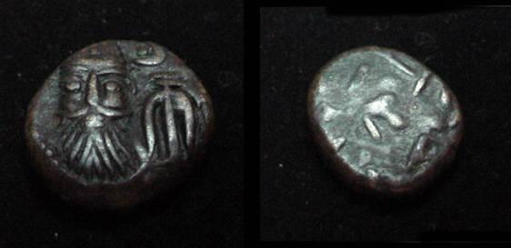 Ancient Coins - Elymais AE Drachm / Orodes II