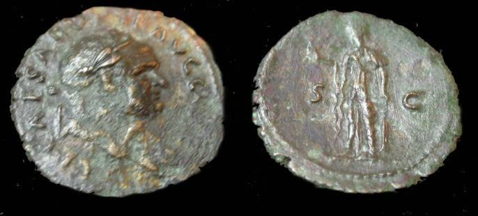 Ancient Coins - Vespasian 69-78AD Ae As