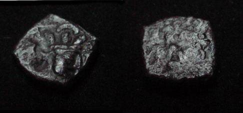 Ancient Coins - The Kushan Shaws Shapur I  AD 241-272 AE 15 M 1268