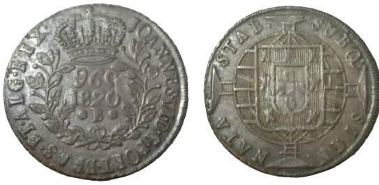 World Coins - Brasil 1820-B 960 Reis