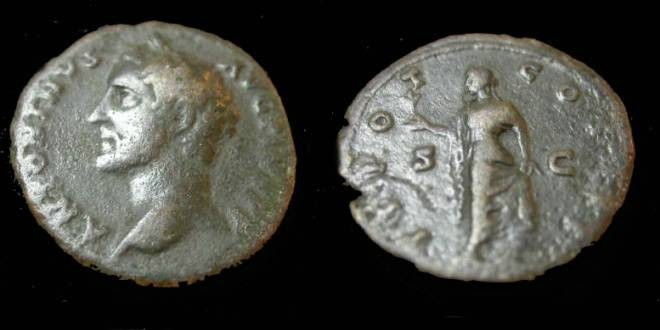 Ancient Coins - Antoninus Pius 138-161AD AE As
