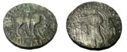 Ancient Coins - Indo Parthian Abdagases Ca 55AD-65AD Taxila Bil Tetradrachm
