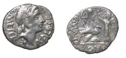 Ancient Coins - Caecilius Metellus. L Caecilius Metellus. 96 bc. AR Denarius.
