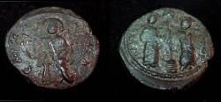 Ancient Coins - Constantine X 1059 - 1067 AD AE Follis