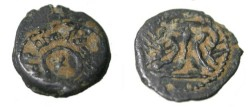 Ancient Coins - Judea Herod I, the Great 40-4 BC AE2 Pruitot