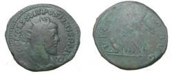 Ancient Coins - Postumus AE Sestertius