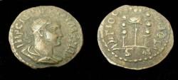 Ancient Coins - Valerian I Æ 21mm of Antioch in Pisidia