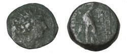 Ancient Coins - Seleukid Kings Antiochus VIII 121-96 BC AE19 S-7154