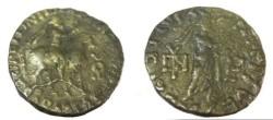 Ancient Coins - Indo Parthian Abdagases Ca 55-65AD Billion Tetradrachm