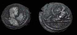 Ancient Coins - Hadrian Egypt Alexandria 117-138 AD AE Drachm