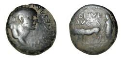 Ancient Coins - Vespasian 69-79 AD AE 23 Macedon Cassandrea