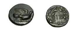 Ancient Coins - Greece Peloponnesos Sikyon 4th - 3rd century BC AE 14 S-2781