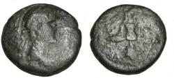 Ancient Coins - Augustus & Tiberius Caesar Megalokles Artist Strategos AE24 RPC 1428 Roger 66-7