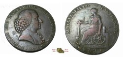 World Coins - Great Britain 1791 Condor Token