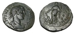 Ancient Coins - Gordian III 238-244 AD of Markianopolis AE27 Tyche w anchor